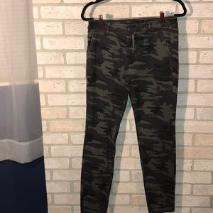 Camouflage Sanctuary skinny jeans